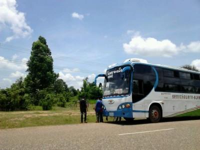 ラオスのバス・トゥクトゥク・ソンテウの所要時間と料金