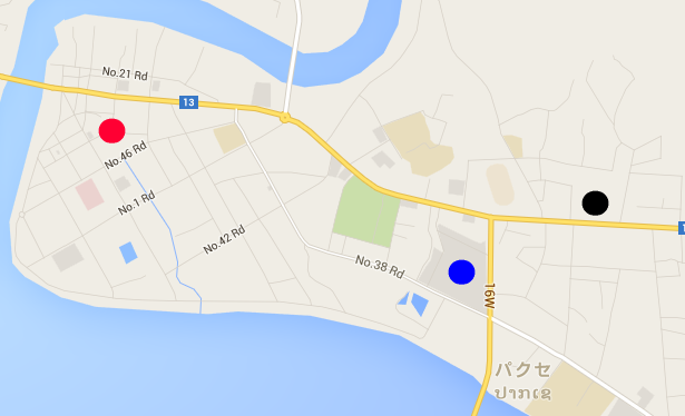 パクセーの地図