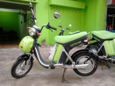 シェムリアップでオススメの電動レンタルバイクGreen e-bike