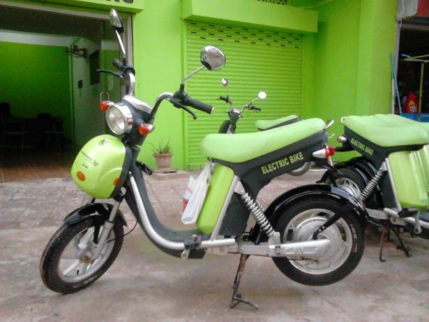 Green_e-bikeの電動バイク